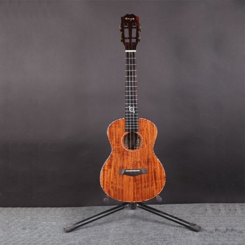"Enya K5 Ukulele 5A Tiger Stripe KOA ukelele 26"" 23"" Hawaii Guitar 4 String mini Guitar Musical Instruments professionals"