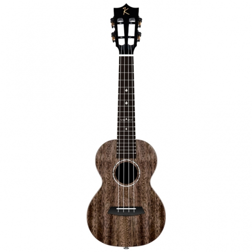 Kaka MAD ukulele Solid Mahogany Black color with bag Enya ukeleles Hawaii 4 string Acoustic guitar musical instruments