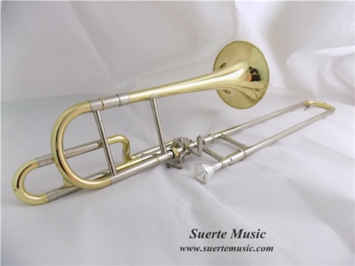 Eb Alto Trombone with case mouthpiece Yellow brass Children trombone musical instruments