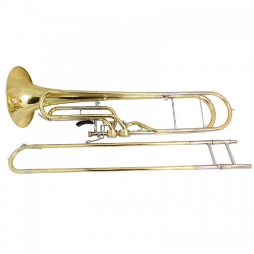 F Key Contrabass Trombone with Case and Mouthpiece Trigger trombone musical instruments