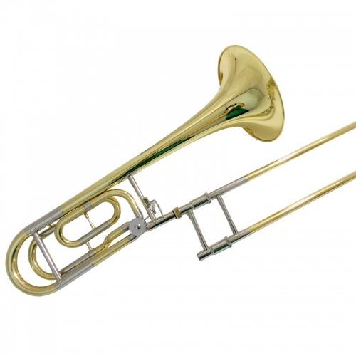 Bb/F Bass Trombones with case mouthpiece slide trombone brass musical instruments Lacquer silver plated