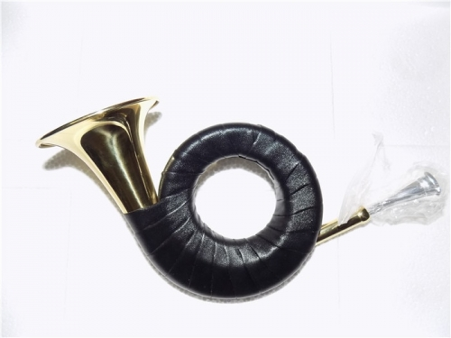 Bb Hunting Horn With Bag 77.5mm Bell Lacquer finish Musical instruments professional