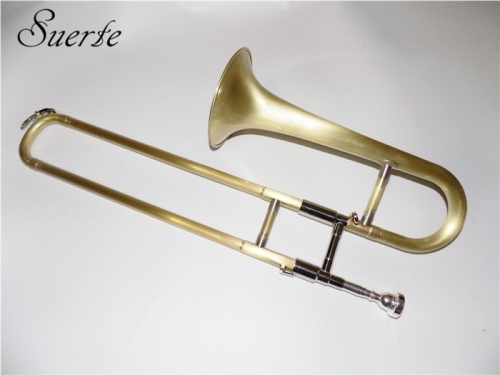 Bb Slide Trumpet musical instruments Brush trompete mouthpiece and case included Professional Brass instruments