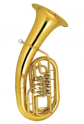 Free shipment from China Bb Euphonium four rotary Valves Yellow Brass Euphonium horn musical instruments