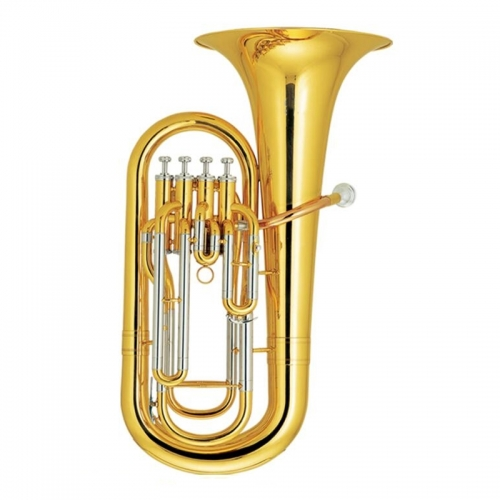 Free shipment from China 4 Pistons Euphonium Yellow brass horn Lacquer with Case and mouthpiece Musical instruments euphonium