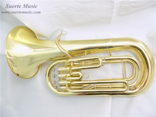 Yellow Brass Euphonium 4 Pistons Bb with Case and mouthpiece Musical instruments professional