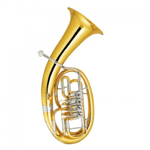 4 Valves Euphonium Musical instruments Yellow brass Euphonium horn with Foambody case and mouthpeice