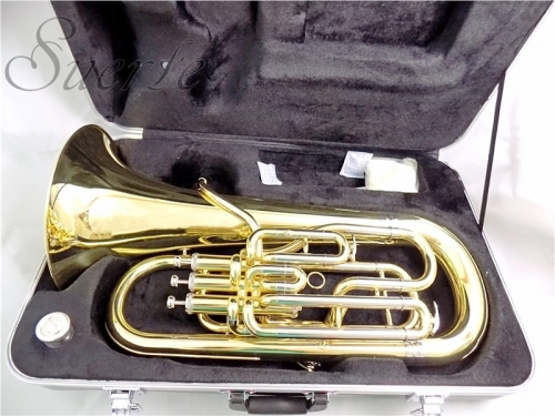 Bb Euphonium 3+1 Pistons Compensating System with ABS Case musical instruments professional Euphonium horn