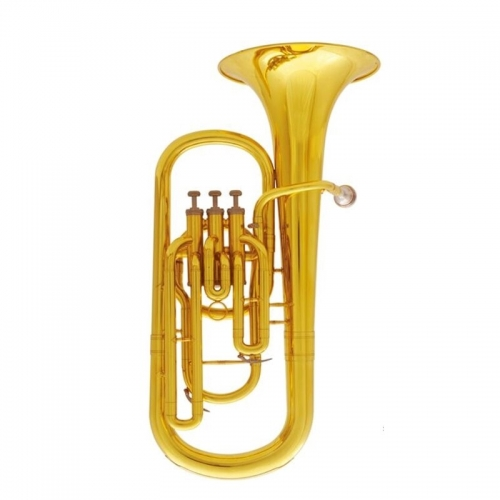 Musical instruments Baritone Bb 3 Pistons Baritone horn With mouthpiece and case