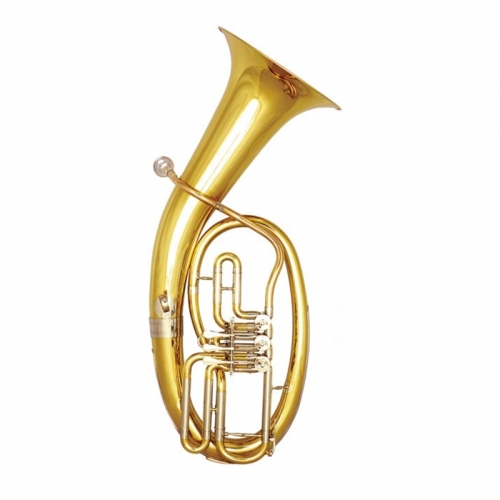 Free shipping Bb baritone horn musical instruments Yellow brass Baritone Lacquer made in China